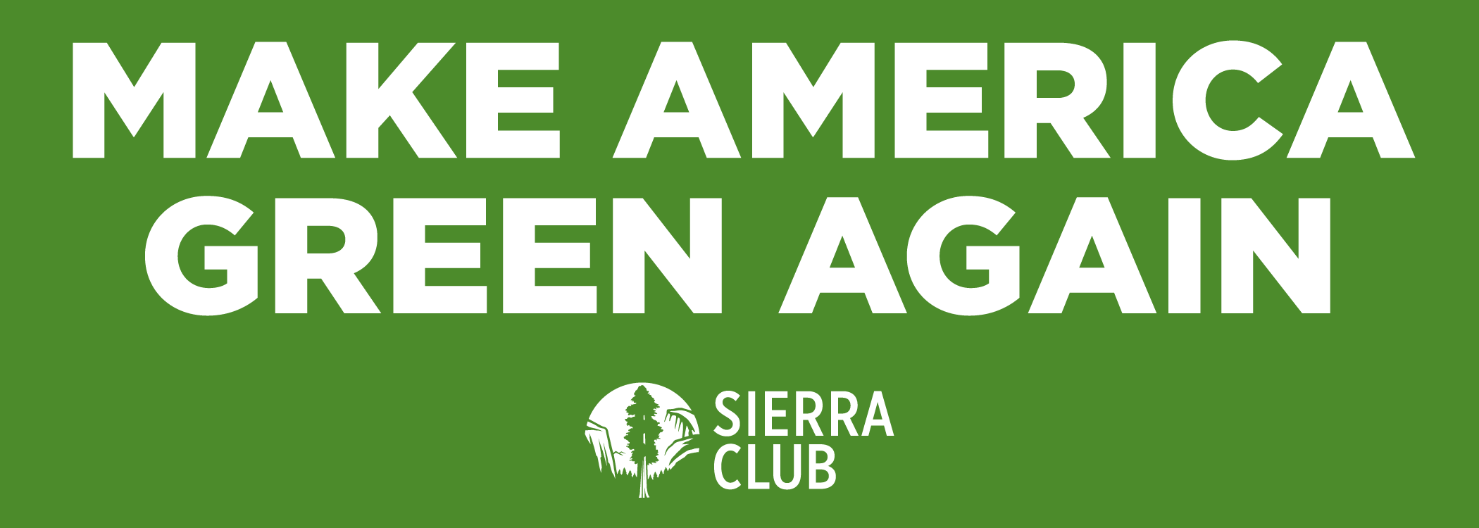 FREE Make America Green Again.