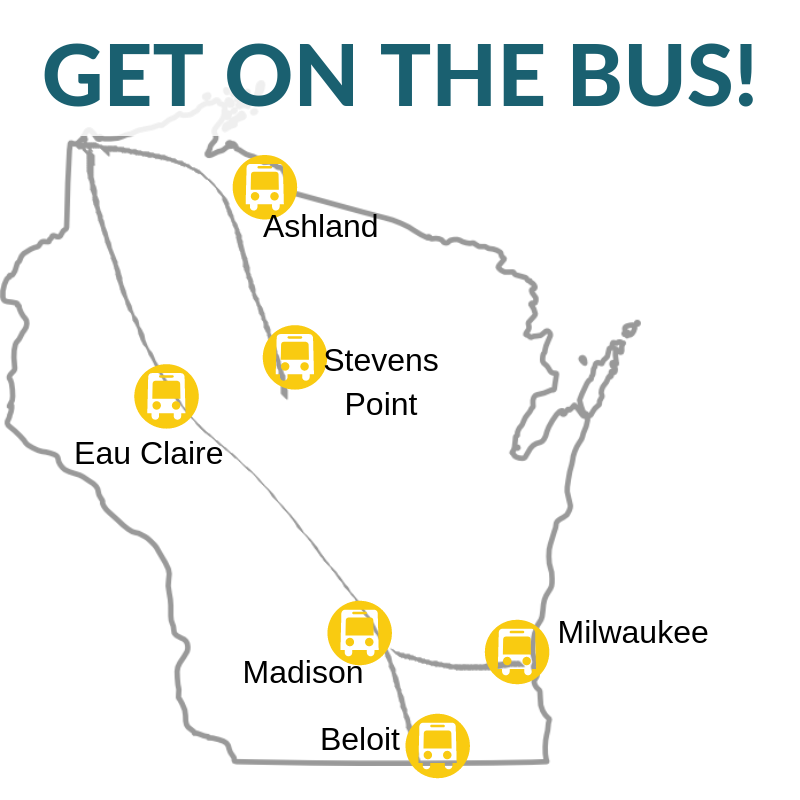Map of Bus Locations